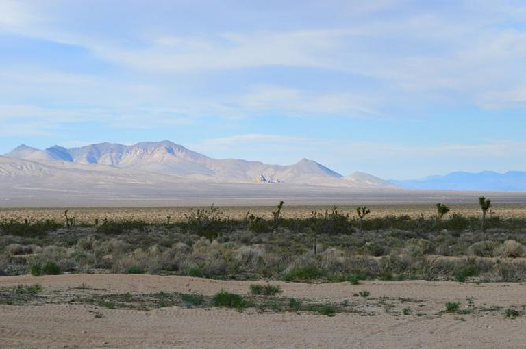 California Desert Landscape © Beachboys5500/Wikimedia Commons