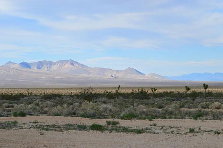 California Desert Landscape © Beachboys5500/Wikimedia Commons