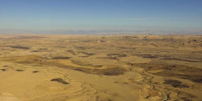 roman crater makhtesh ramon