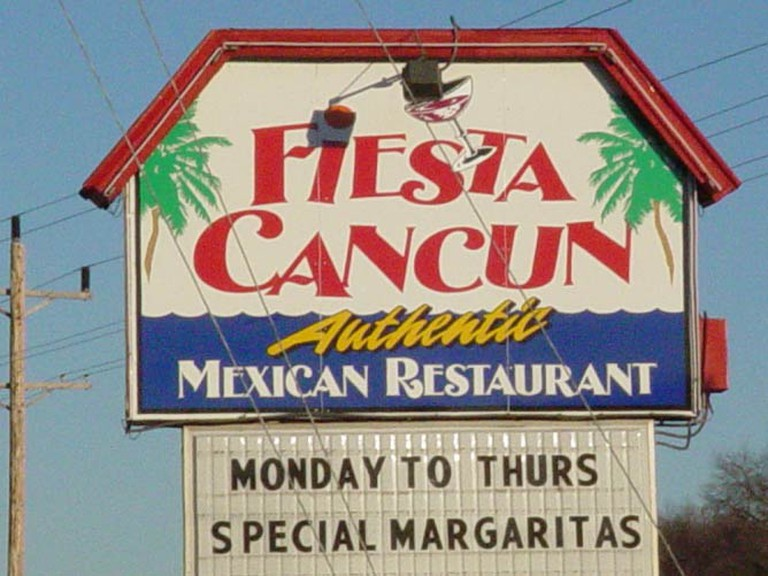 Fiesta Cancun Sign | Courtesy Signs to Go