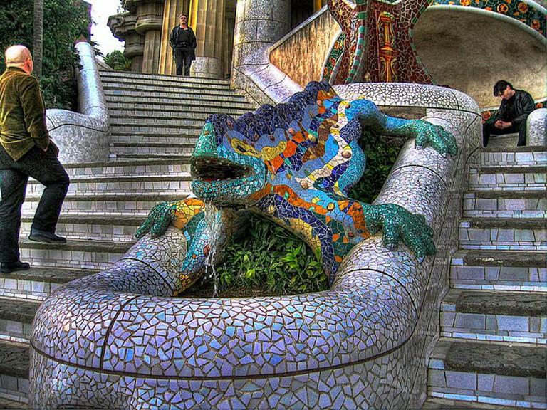 Park Guell, Barcelona   © john.purvis/Flickr