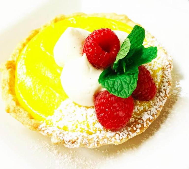 Lemon Curd Tart | Courtesy Bleu Restaurant