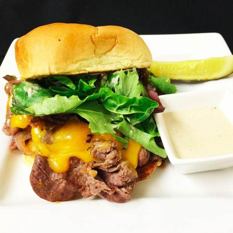 Beef and Cheddar Sandwich | Courtesy Bleu Restaurant