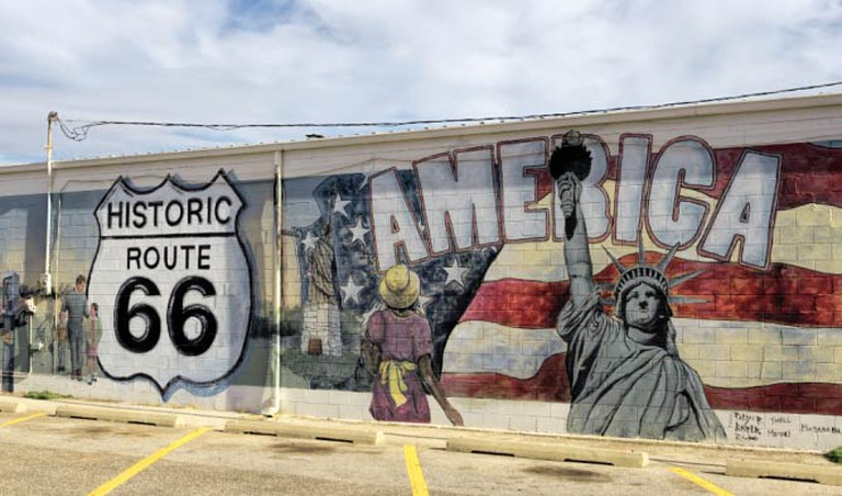 Mural in Edmond | © Kool Cats Photography over 3 Million Views/Flickr