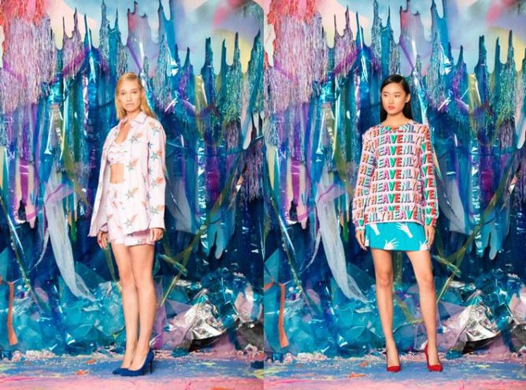 Models showcase pieces by Hayley Elsaesser   Courtesy Hayley Elsaesser