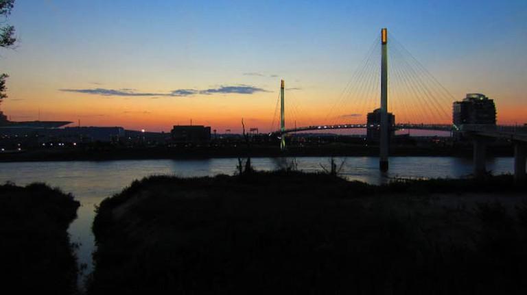 Bridge linking Omaha and Council Bluffs | © Nelo Hotsuma/Flickr