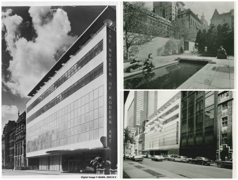 MoMA architecture from 1939 to 1960
