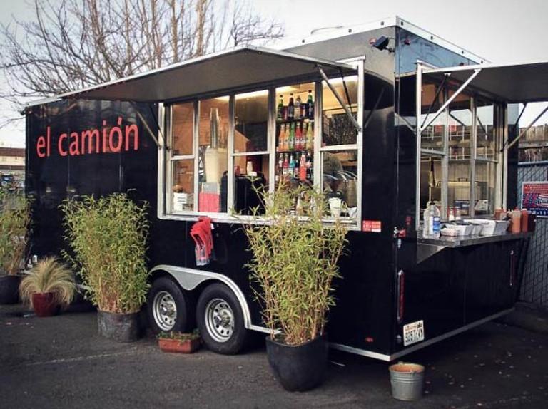 One of three El Camión trucks | Courtesy of El Camión
