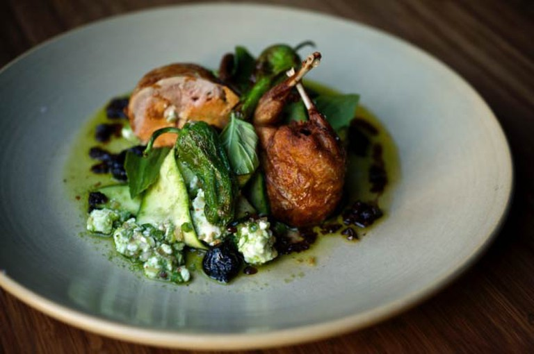 Signature dish | © David Reamer/Courtesy of Le Pigeon