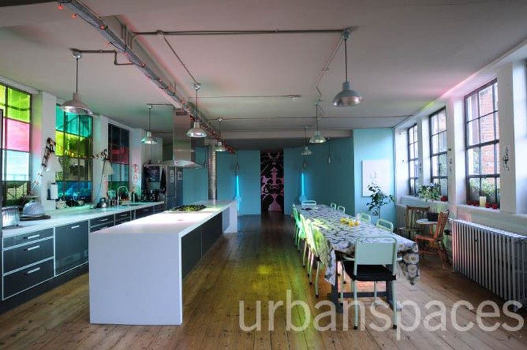Shoreditch loft reception | Courtesy Urban Spaces