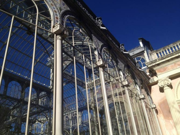 Glasshouse in Retiro Park, Madrid