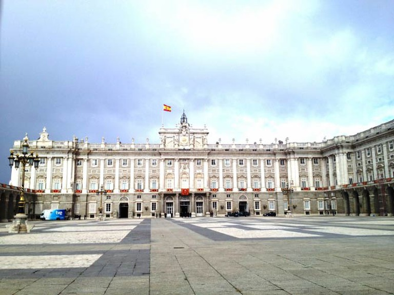[Photo: Palacio Real de Madrid © Rebecca Cairns]