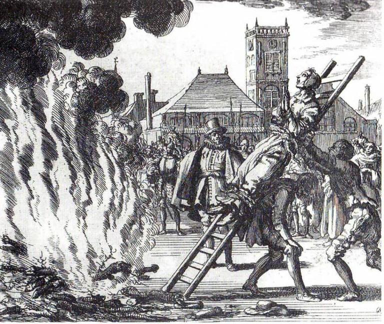 Feuerhinrichtung von Anneken Hendriks in Amsterdam 1571 (the Burning of Anneken Hendriks) |© CI Roger-Viollet/Wikicommons