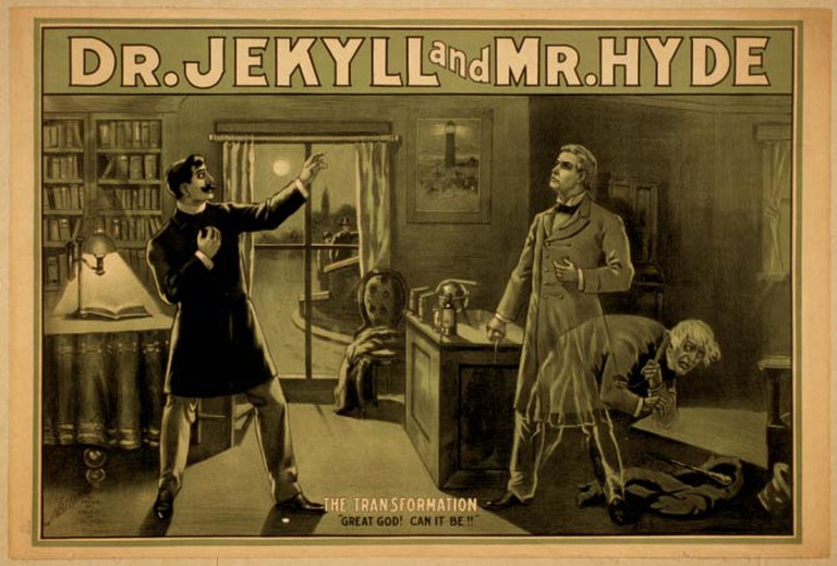 The Strange Case of Dr Jekyll and Mr Hyde Poster |© Chicago National Printing and Engraving/Wikicommons