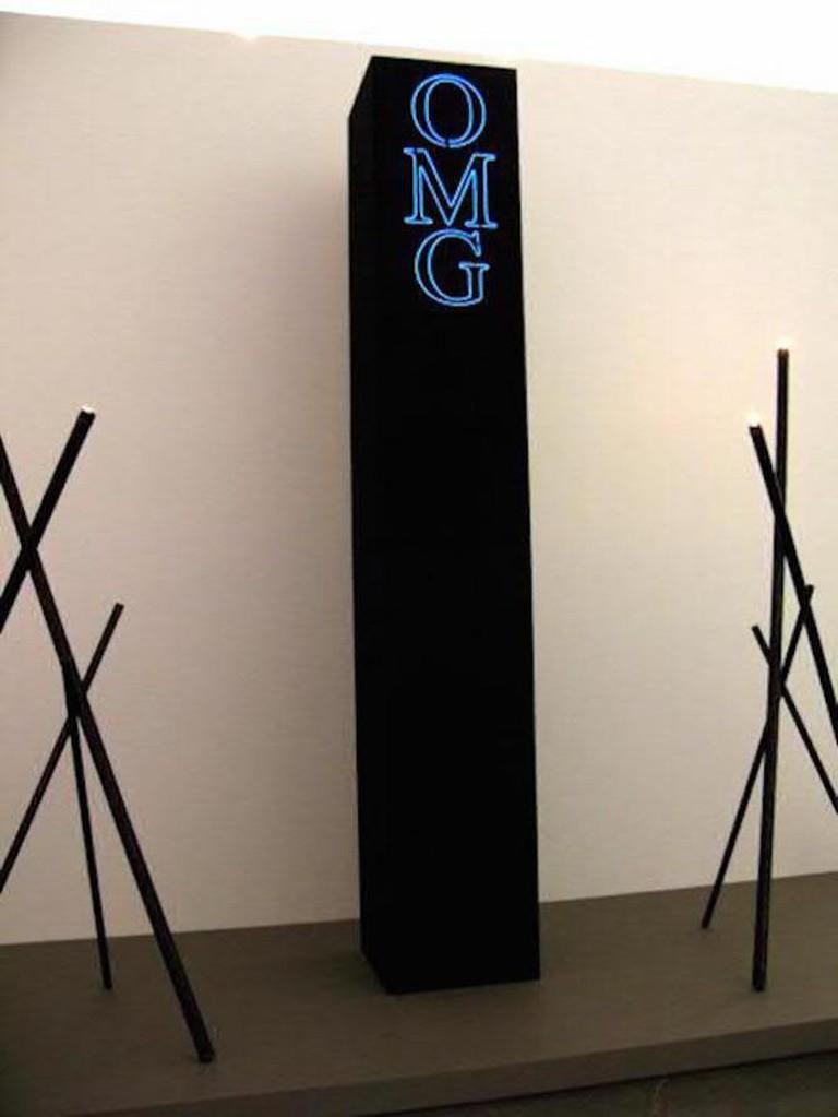 OMG Obelisk aids art
