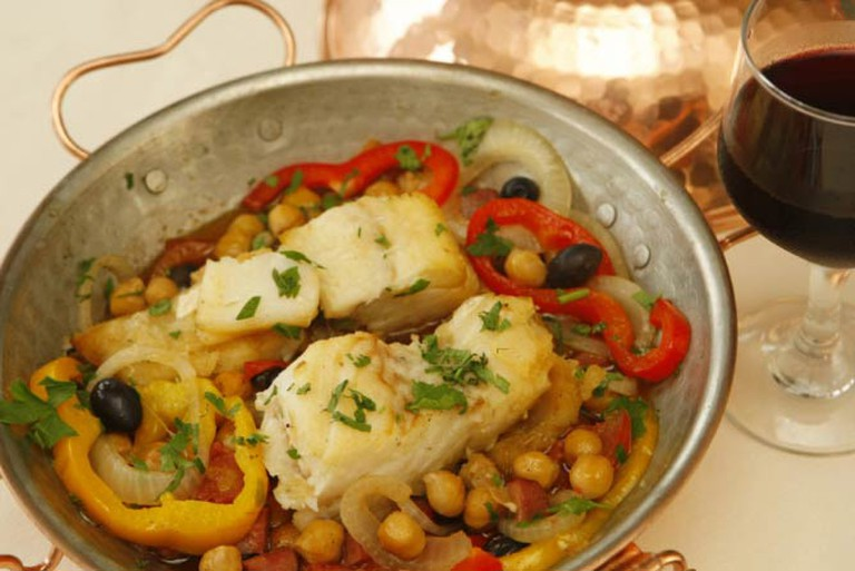 Bacalhau na Cataplana | Courtesy of Bar Urca