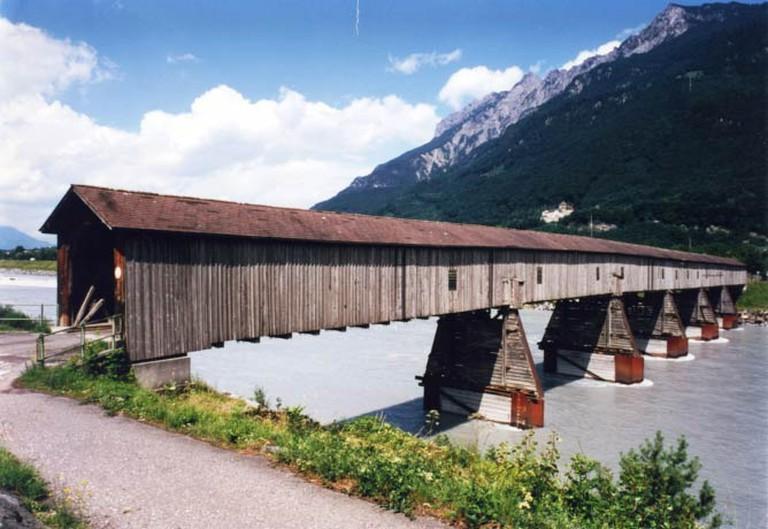 Old Rhine Bridge (c) Courtesy of the Press and Information Office, Vaduz
