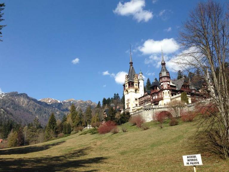 Peles Castle, Romania | © Lani Seelinger