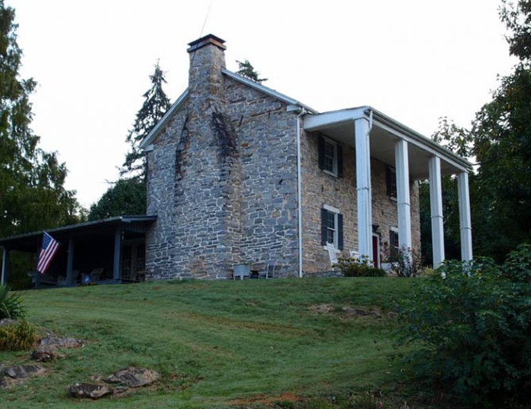 The historic Wills-Dickey Stone House in Kingsport | © Tricitiesbob/WikiCommons