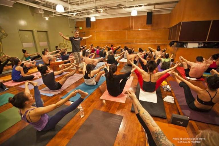 Bryan Kest Power Yoga |©Jalal Pashandi