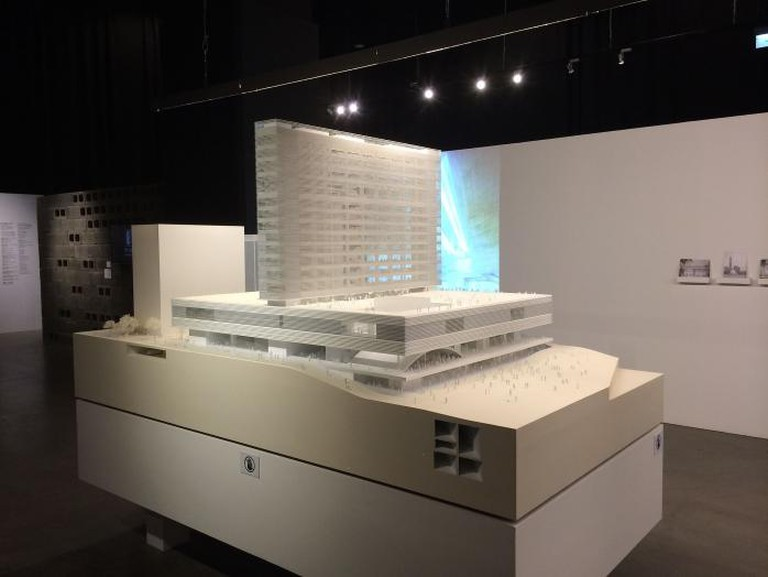 Model of M+ Museum Hong Kong | © Wing1990hk/WikiCommons