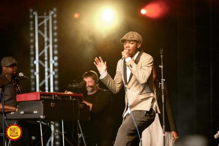Baloji, Performing Live at Belgian Afro-Latino Festival 2013 © Michel Engelen/Flickr
