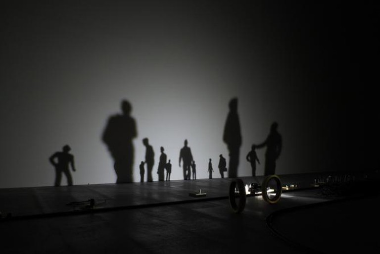 Ryota Kuwakubo, Lost #2, Ars Electronica 2011. Photo: Florian Voggeneder
