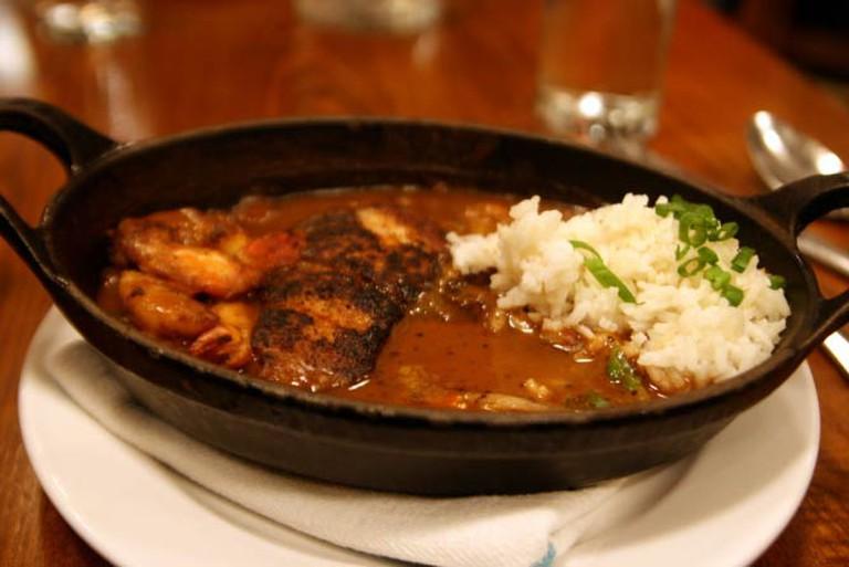 Cajun Seafood Dish
