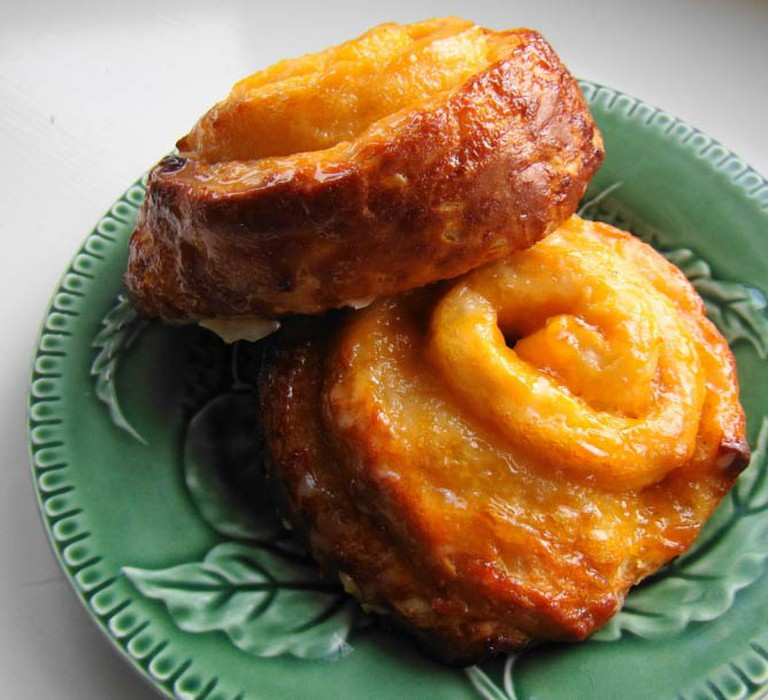 Swirly Orange Rolls