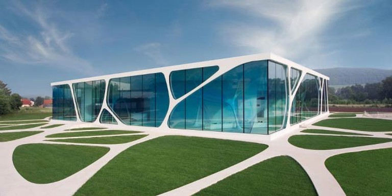 Leonardo Glass Cube | © Emanuel Raab/Courtesy of WikiCommons