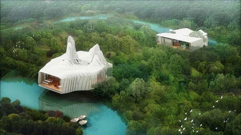 Bird Island Villas | © Graft Lab/Courtesy of e-architect