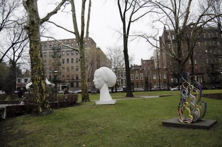 pratt sculpture garden brooklyn