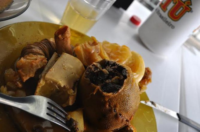 Buchada (Stuffed Goat Stomach)