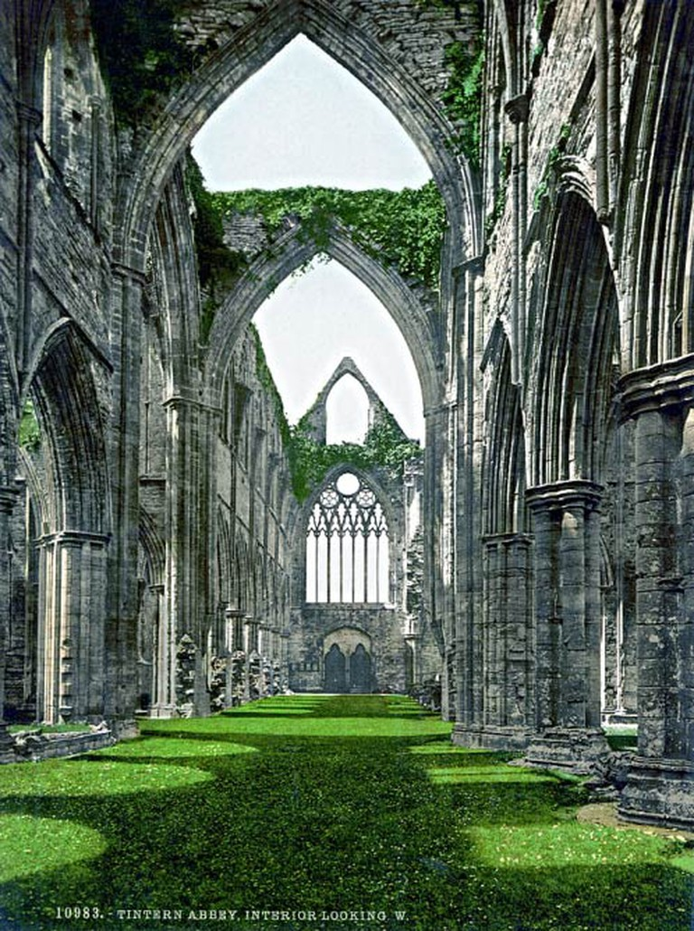 Tintern Abbey | WikiCommons/Photochrom