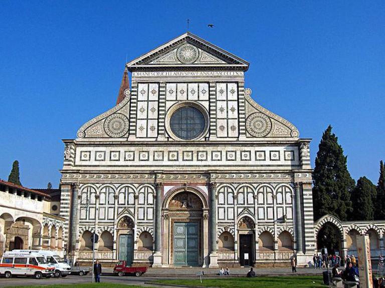 Santa Maria Novella © Georges Jansoone/Wikipedia.