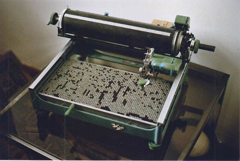 A later Chinese typewriter