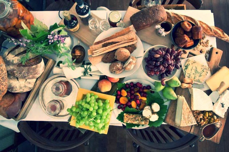 Colourful and flavourful Delicatessen brunch