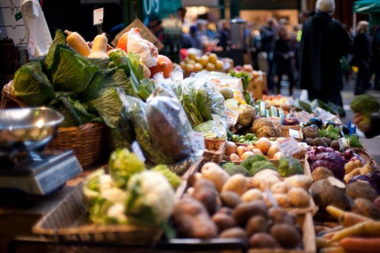 Vegetable stall | © Jack Gavigan/WikiCommons