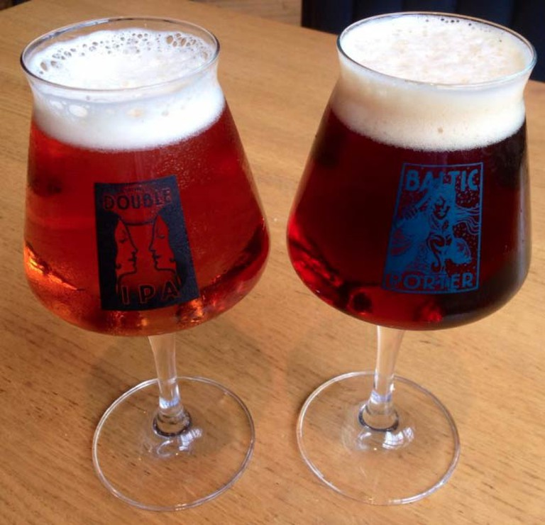 Special glasses from Foothills Brewing | Courtesy of Foothills Brewing