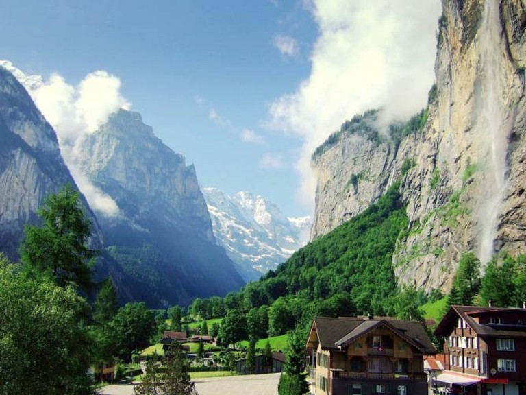 Panorama of Lauterbrunnen