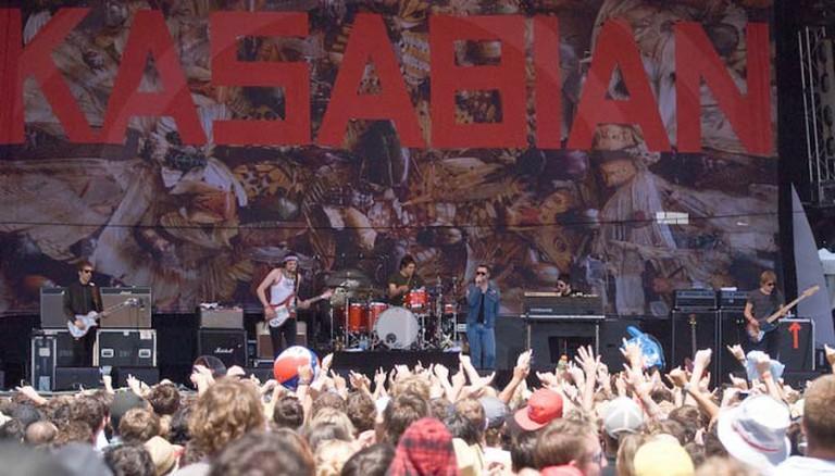 Kasabian Live in 2010.
