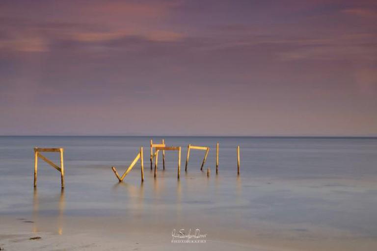 Pier Remains - Skårupøre, Denmark © Guiie Sandgaard Ferrer