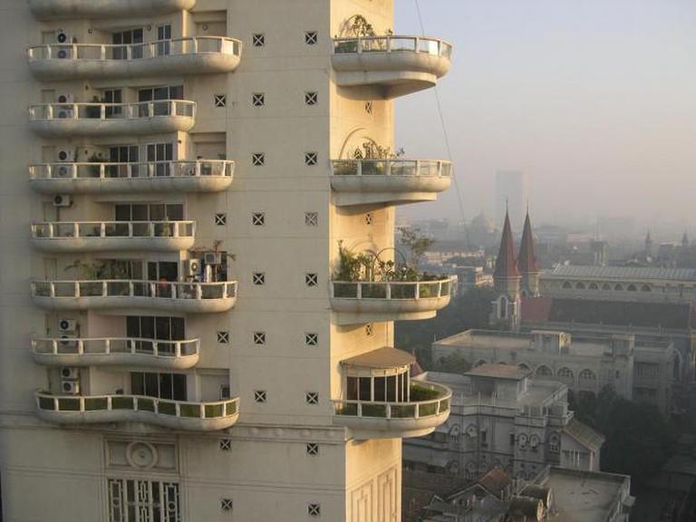 Hafeez Contractor's Apartment Buildings   © Ranveig/Wikicommons