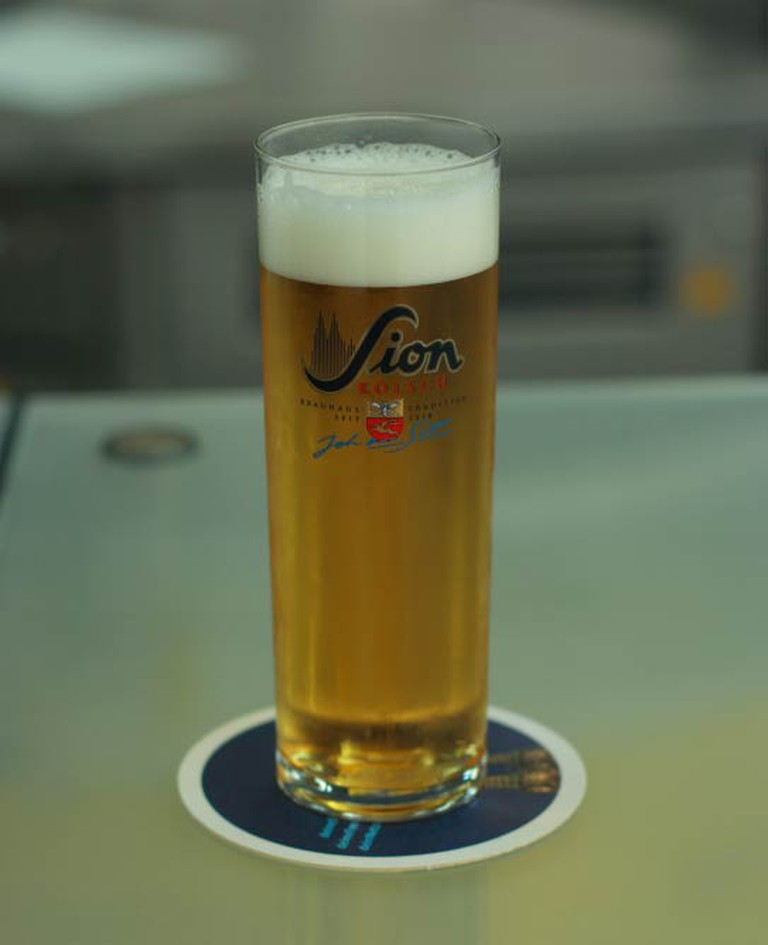 A glass of Sion Kölsch