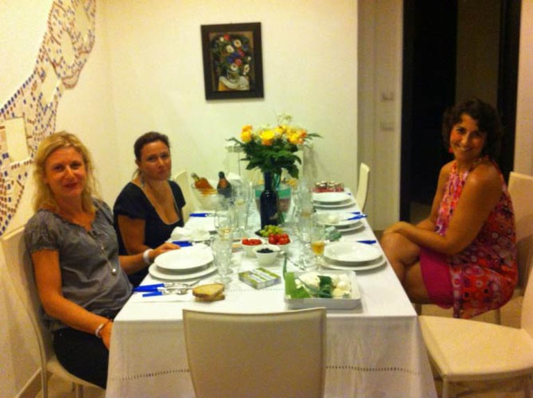 Dining in the homes of locals