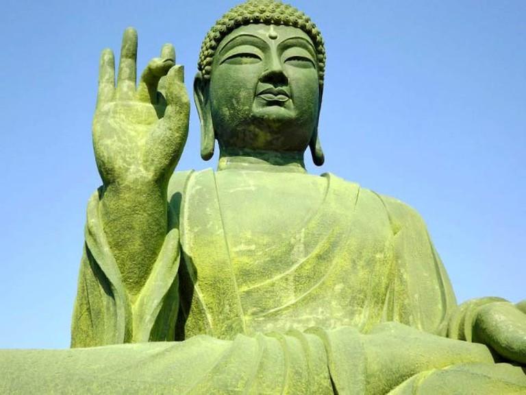 Alexis K. Barnes- Gakwonsa Sitting Buddha