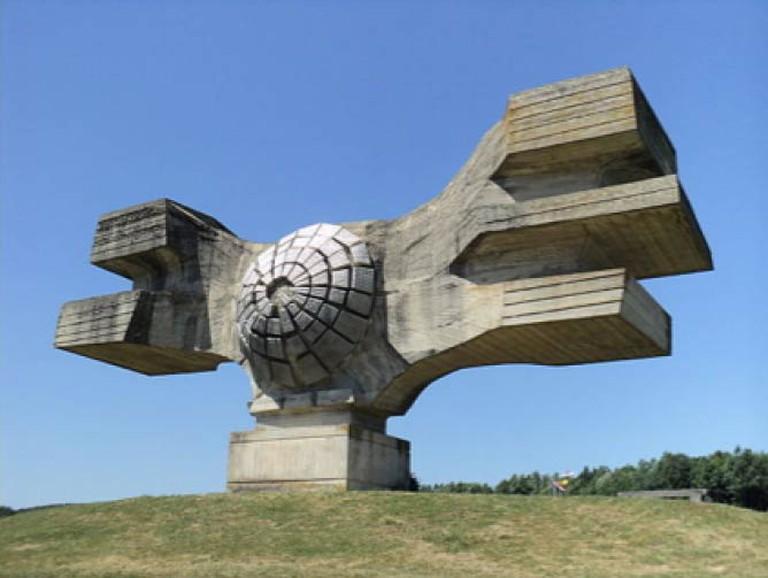 Spomenik in Podgaric, Croatia