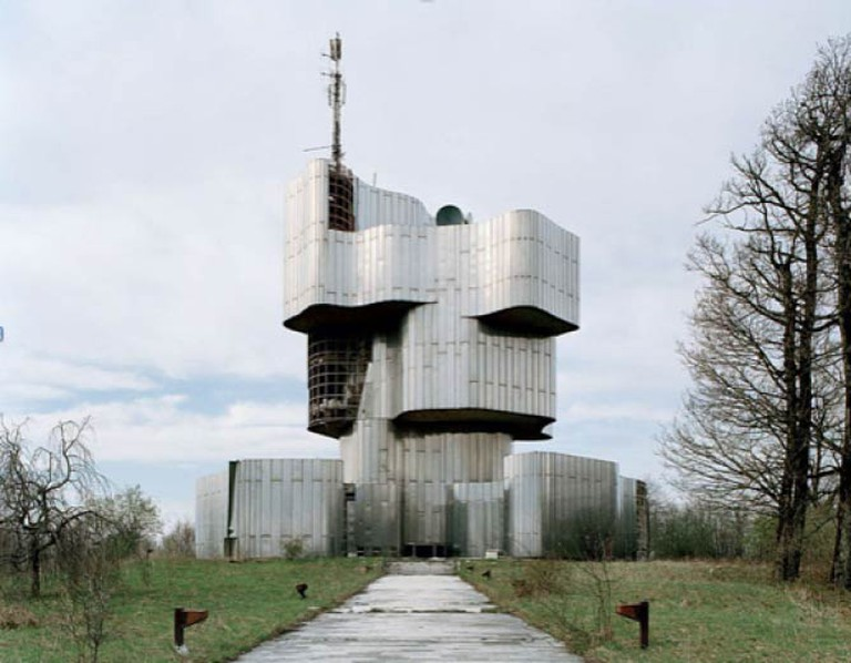 Spomenik on Petrovac, Croatia
