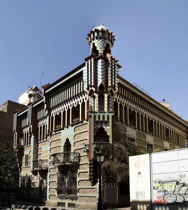 Exterior shot of Casa Vicens