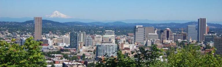 The Portland Skyline | © Amateria1121/WikimediaCommons